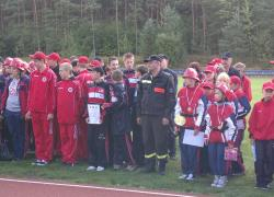 Powiatowe zawody sportowo-pożarnicze młodzieżowych drużyn pożarniczych. - 15.09.2012