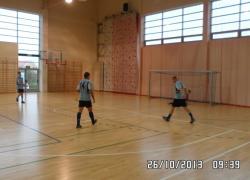 Powiatowe zawody w halową piłkę nożną drużyn OSP - 26.10.2013