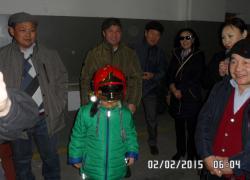 Niecodzienna wizyta z dalekiej Mongolii - 02.02.2015