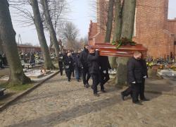 Pogrzeb druha Konrada Ziera - 09.04.2021