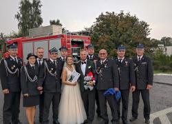 Uroczystość ślubna Aldony i Kacpra
