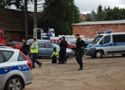 Ćwiczenia w gminie Gniewino - 25.09.2011