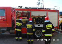 Inspekcja gotowości bojowej. - 19.10.2012