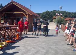 Zgrupowanie szkoleniowe z zakresu ratownictwa wodnego - 05.08.2013