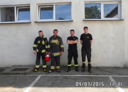 Szkolenie w komorze dymnej w Słupsku. - 04.07.2015