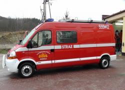 Samochód ratowniczy Renault Master SLRt