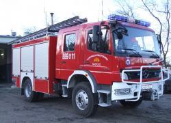 Samochód ratowniczo-gaśniczy Mercedes Atego 1326 GBA 16/2,5