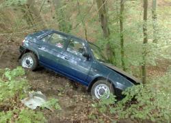 Wypadek samochodowy na trasie Gniewino-Czymanowo