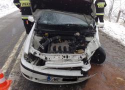 Wypadek samochodowy w Tadzinie