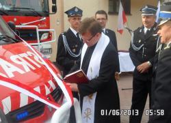 Uroczystość przekazania samochodu ratowniczo-gaśniczego - 02.06.2013