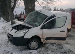 Śmiertelny wypadek samochodowy w Rybnie