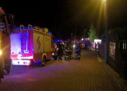 Wypadek motorówki na jeziorze Żarnowieckim