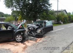 Tragiczny wypadek samochodowy w Tadzinie