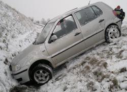Wypadek samochodowy na trasie Gniewino - Strzebielinek - 27.01.2015