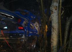 Wypadek drogowy w Czymanowie - 26.03.2015