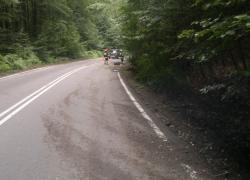 Zagrożenie w ruchu drogowym na trasie Czymanowo-Gniewino