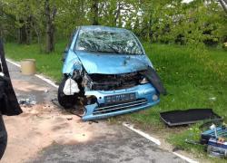 Wypadek drogowy na trasie Gniewino-Czymanowo