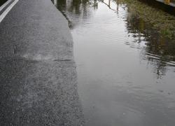 Zalana ulica w Czymanowie
