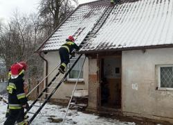 Pożar sadzy w kominie w Toliszczku - 28.01.2021