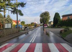 Zasłabnięcie przy ul. Kaszubskiej w Nadolu