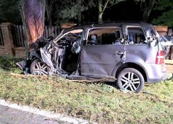 Tragiczny wypadek drogowy w Nadolu na ul. Bałtyckiej